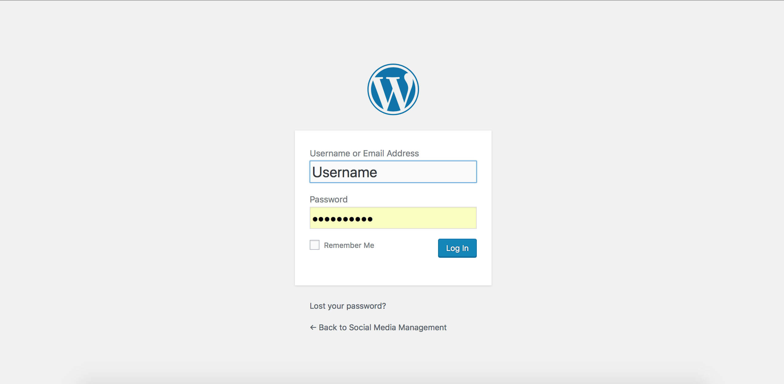 WordPress Basic User Guide