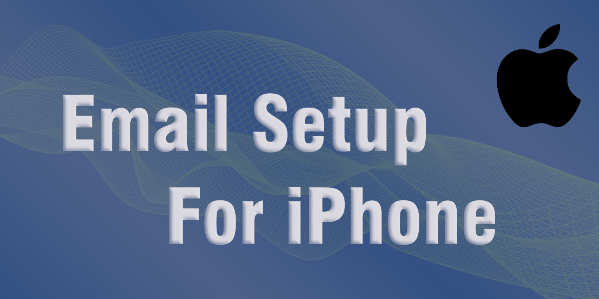 email set up iphone