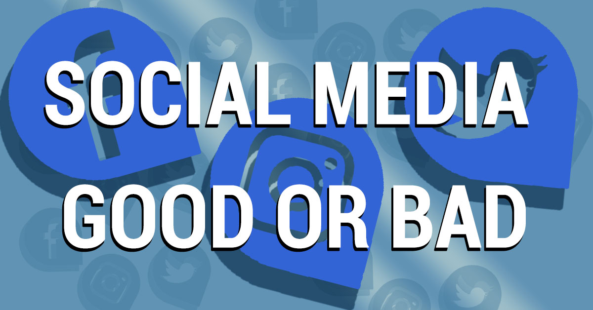 social media good or bad cover