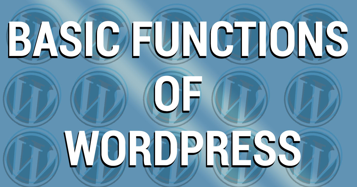 wordpress basics cover